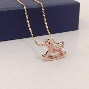 Swarovski Jewelry Rhodium Plated Necklaces